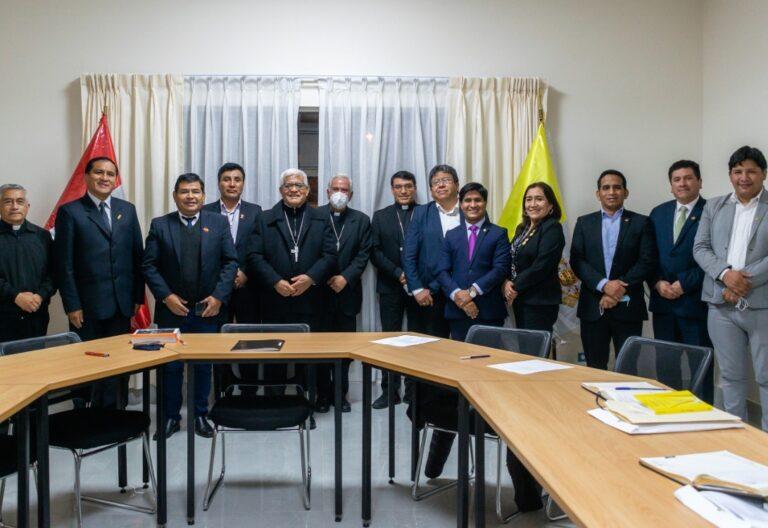 Miguel Cabrejos se reune con congresistas de los pueblos indígenas
