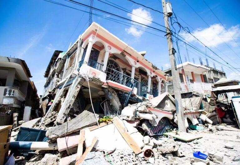 sismo en Haití
