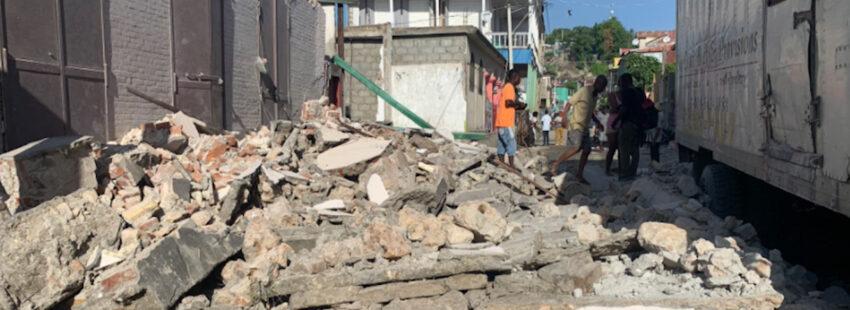 Un nuevo terremoto deja víctimas fatales en Haití la mañana de este sábado 14 de agosto