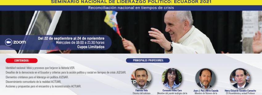 Seminario de Líderes políticos para Ecuador