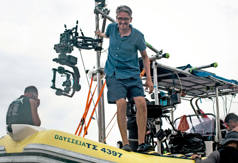 "Director de cine. ""Mediterráneo"""