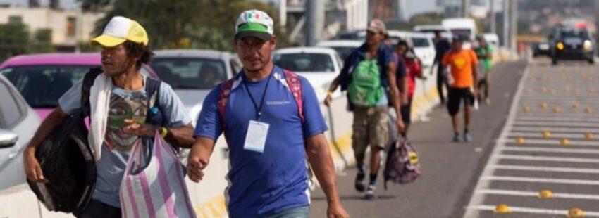 caravana migrante en Jalisco