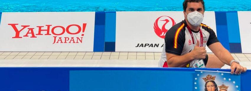 Carlos Salvador, entrenador del equipo español de natación