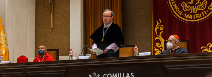 Apertura del Curso 2021-2022 en la Universidad Pontificia Comillas