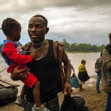 migrantes río Suchiate