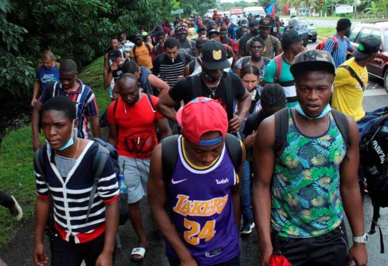 migrantes de Haití en México