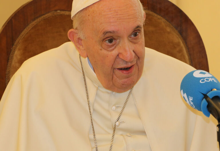 El papa Francisco en entrevista con COPE