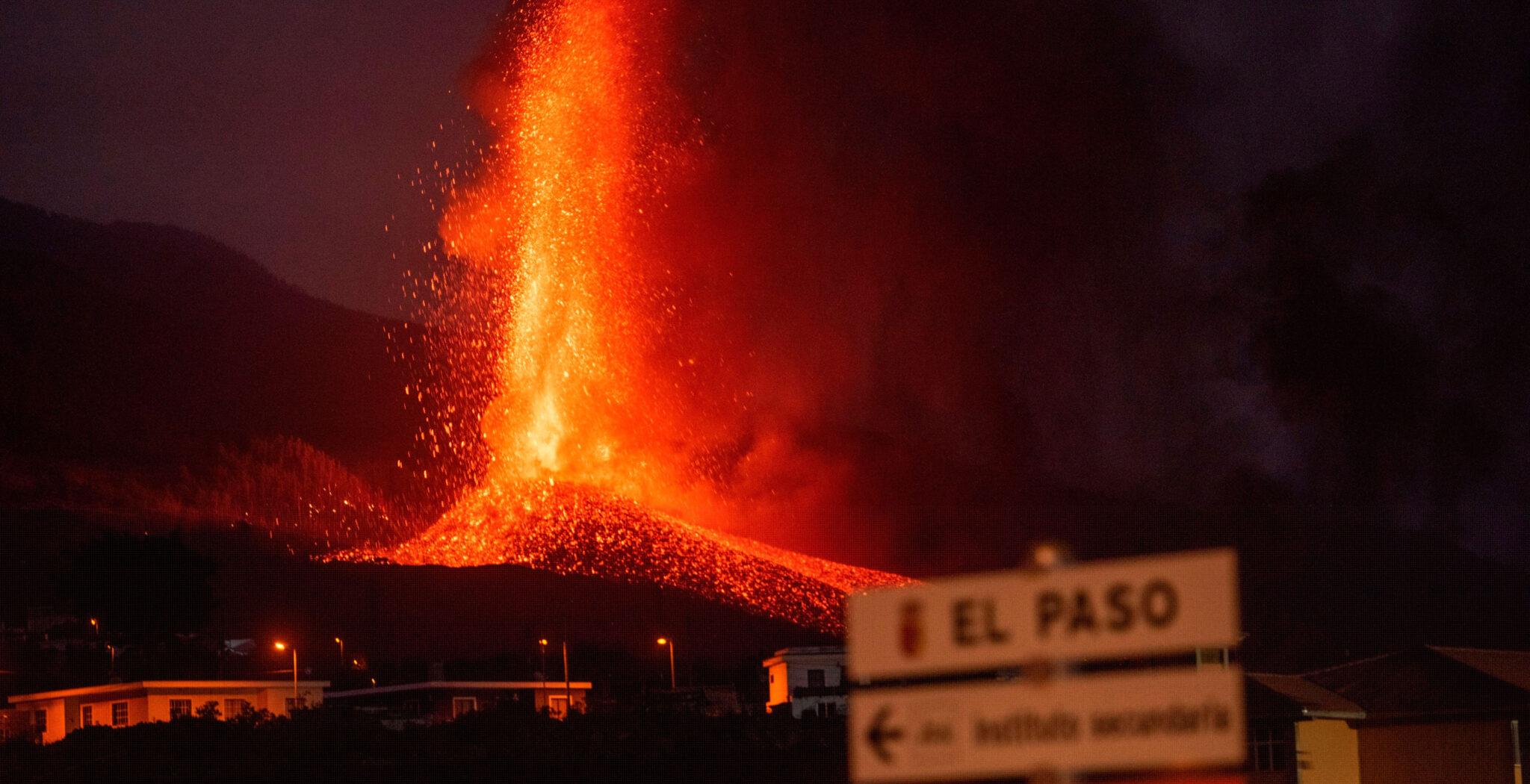 Erupción volcán La Palma