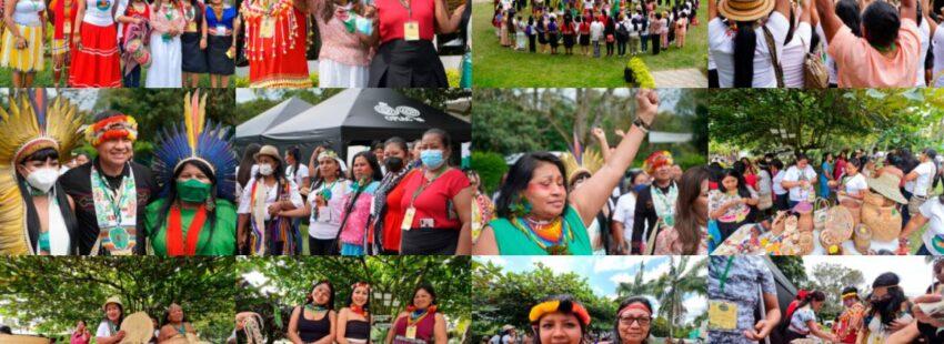 Mujeres de la cuenca amazónica se reunieron del 8 al 12 de octubre en Colombia