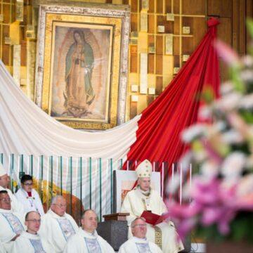 Carlos Aguiar en Basílica de Guadalupe