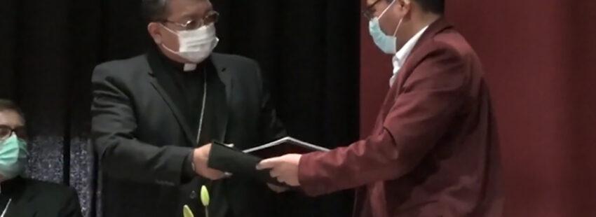 La Iglesia boliviana firma convenio con el Gobierno