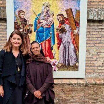 La Vicepresidenta de Colombia y Gloria Cecilia Narváez