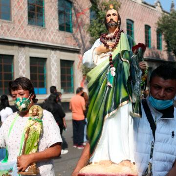 fieles san Judas Tadeo