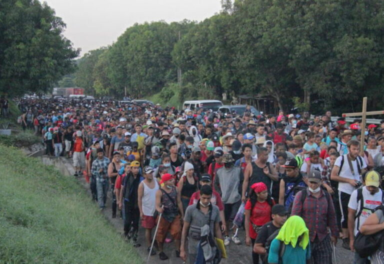migrantes en Chiapas