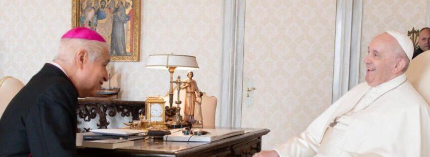 Rogelio Cabrera y el Papa